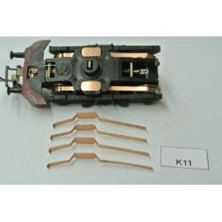 TT Kontakty K11 pro MY,M61,R204,BR130,BTTB/ZEUKE,TT,neoriginální,4ks